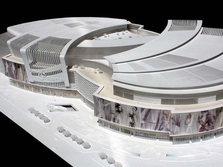 Aedas's Olympia 66 Shopping Mall in Dalian, China