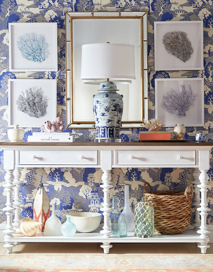 chinoiserie chic blue and - photo #9