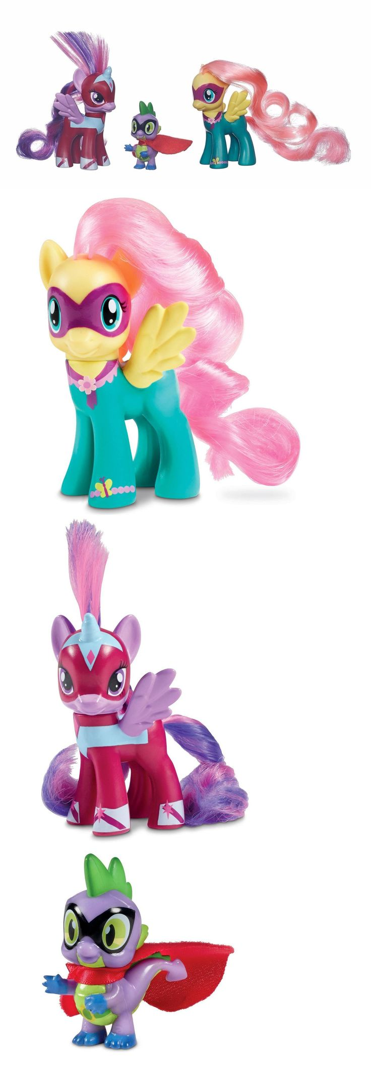 1990-Now 47228: My Little Pony Toy 3Pk With Spike The Dragon Figure Playset New -> BUY IT NOW ONLY: $30.87 on eBay!
