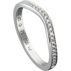 バレリーナ カーブ ウエディング リング - Cartier(カルティエ)の結婚指輪