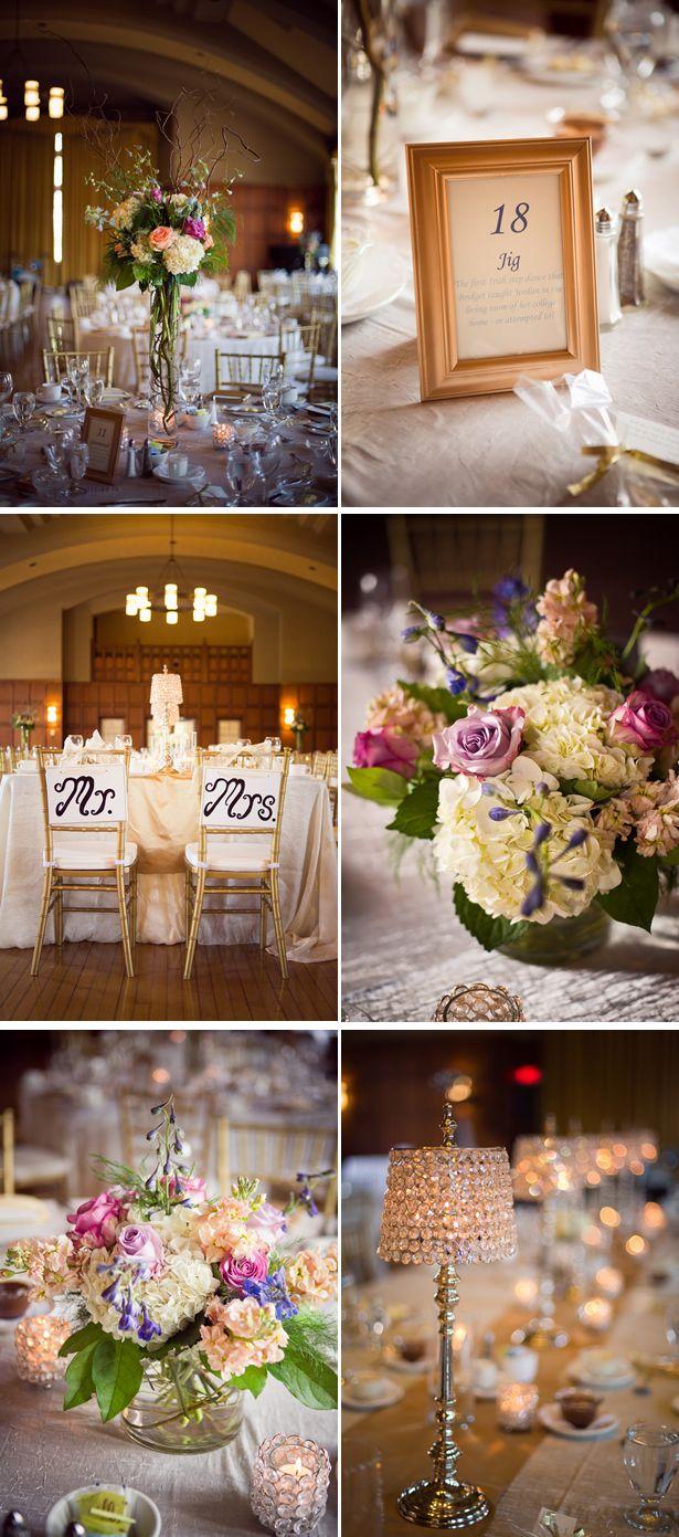 elegant periwinkle summer ballroom wedding 4, real weddings ideas and trends