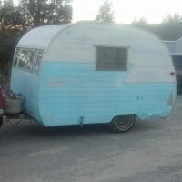 1957 Shasta 10 foot project as found - Trailers for Sale - Show Ad - Tin Can Tourists