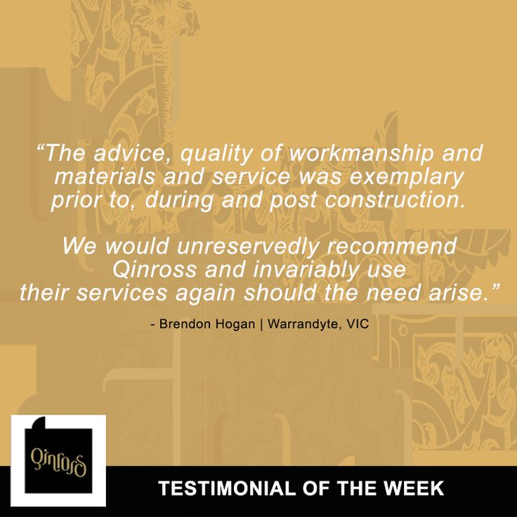 Want to see more proof of our excellence, professionalism and expertise? Here's another testimonial from a highly satisfied homeowner, Brendon Hogan!