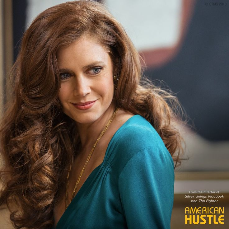 Amy Adams in American Hustle. Hair color