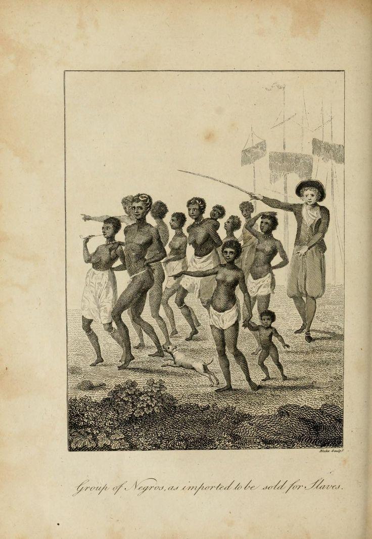 5 anos de viagem pelo Brasil - Livro que mostra costumes sobre o Brasil colonial - Negros recolhidos para serem vendidos como escravos.