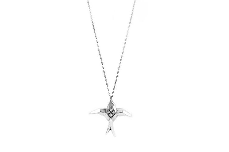 new collection geometric electric sparrow necklace