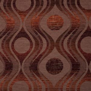 Looking for a stand-out fabric in a warm chenille? Look at me! Red-Ra evokes Egyptian paintings and the variety of reds provide interest, depth and texture. A great fabric for statement curtains or exotic scatter cushions, bring some warmth and drama to the room with Red-Ra. #softfurnishings #geometric #curtains #red #chenille #homedecor