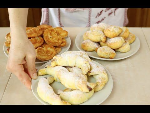 3 IDEE PER DOLCI FACILI CON PASTA SFOGLIA - 3 Easy puff pastries dessert recipes…