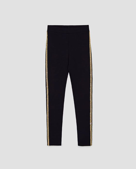 Leggings with Gold Detail, M $36
