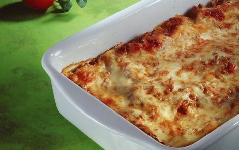 Lasagne med hvidløg