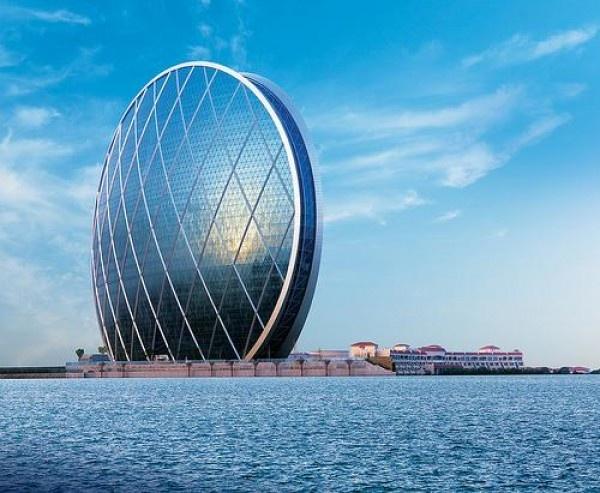 ALDar HQ in Abu Dhabi. World's First Circular Skycraper: Building, United Arabic Emirates, Offices Spaces, Luxury Travel, Aldar Hq, Abudhabi, Aldar Headquart, Abu Dhabi, Amazing Architecture