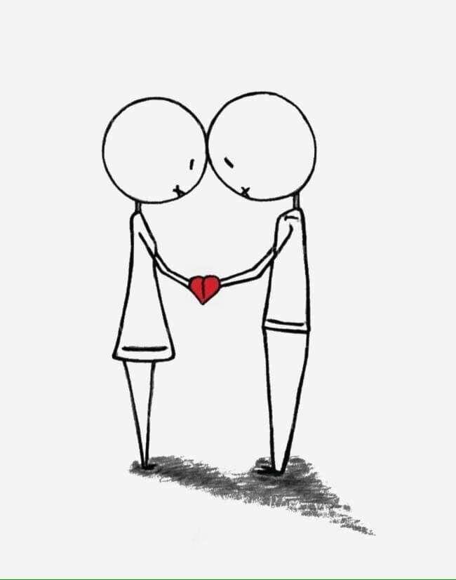 Pin De Betty Palma En 1 Iamgenes Para Editar Parejas Garabatos De Amor Dibujos Sencillos Dibujos De Amor