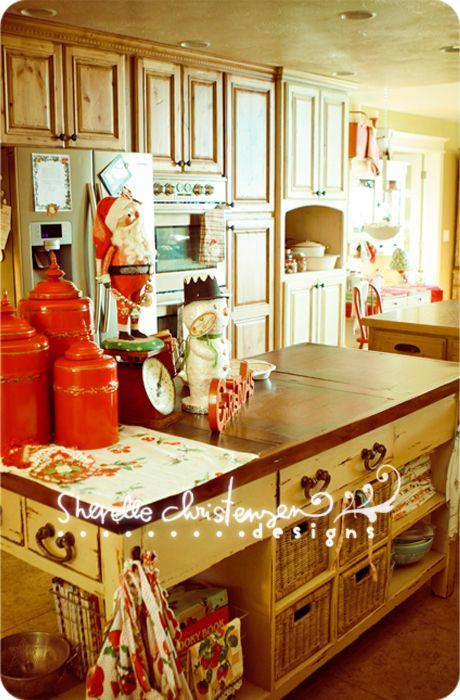 Cute Christmas Kitchen!: Christmas Kitchen