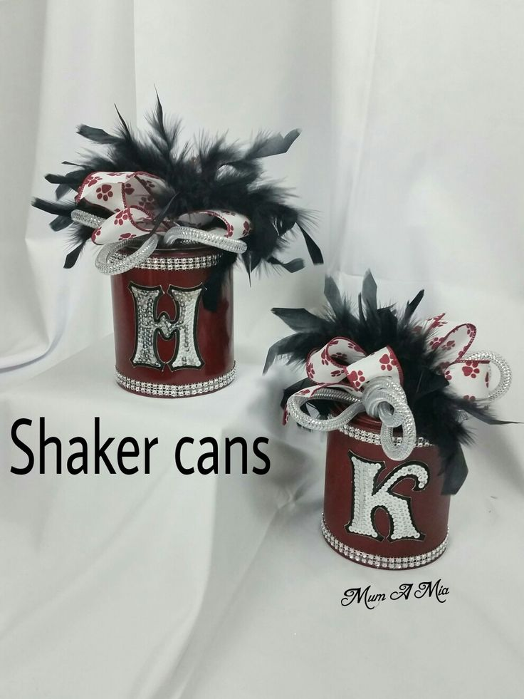 Shaker cans Football noise makers