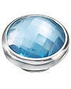 Kameleon At The Beach Blue Topaz CZ JewelPop Kameleon JewelPops are an easy to use interchangeable jewelry system that uses precision casting and a patented rubber seal technology.  When the JewelPop is securely inserted into the jewelry it makes a cool popping sound.