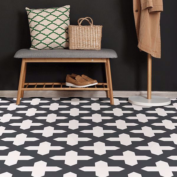 Nordic Peel And Stick Floor Tiles In 2020 Peel And Stick Floor Tile Floor Stick On Tiles