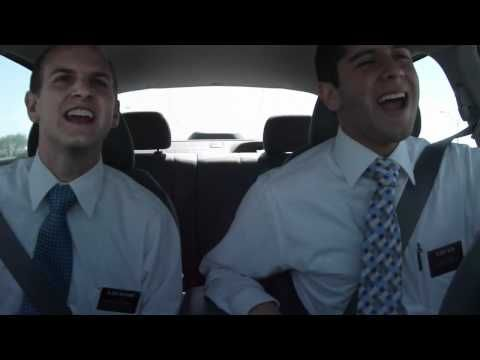 Here's what happens when Mormon Missionaries can only listen to church songs for 2 years...... omg. that was hilarious! I'm crying.... ~Pinning  to watch later :)