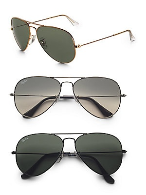 7951d00a456 Authentic Ray Ban Aviator Sunglasses 7095