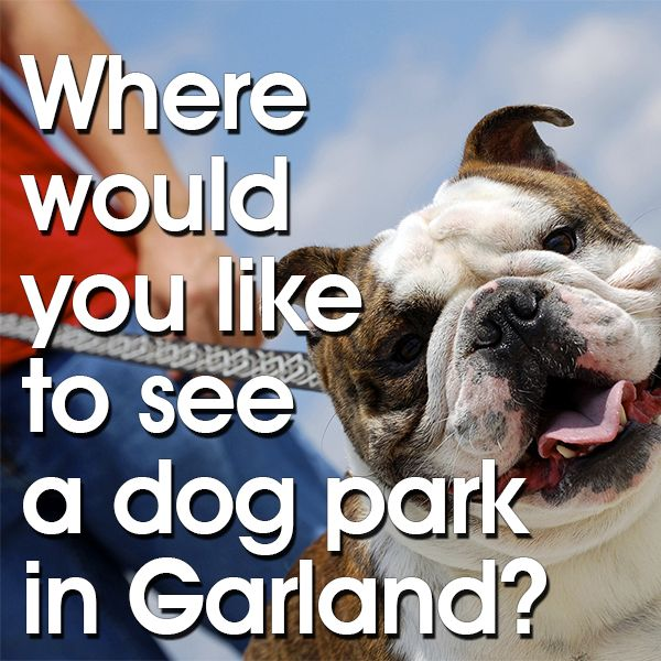 The City of Garland encourages residents to respond to