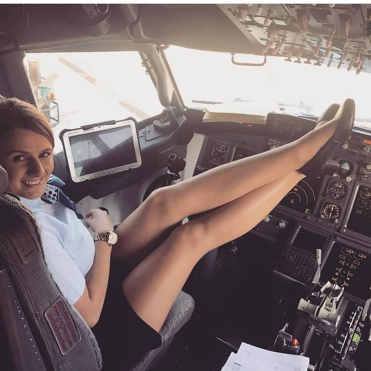 Flight attendant tan pantyhose footjob