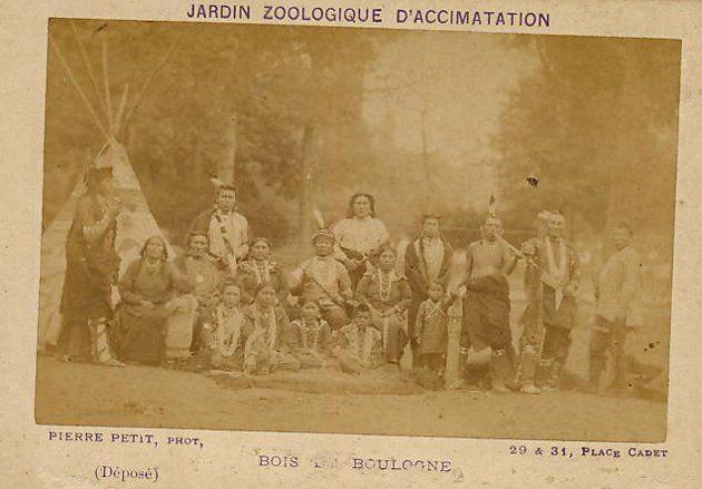 """""""zoologicos humanos"""" de la Patagonia a Paris fines de 1880"""