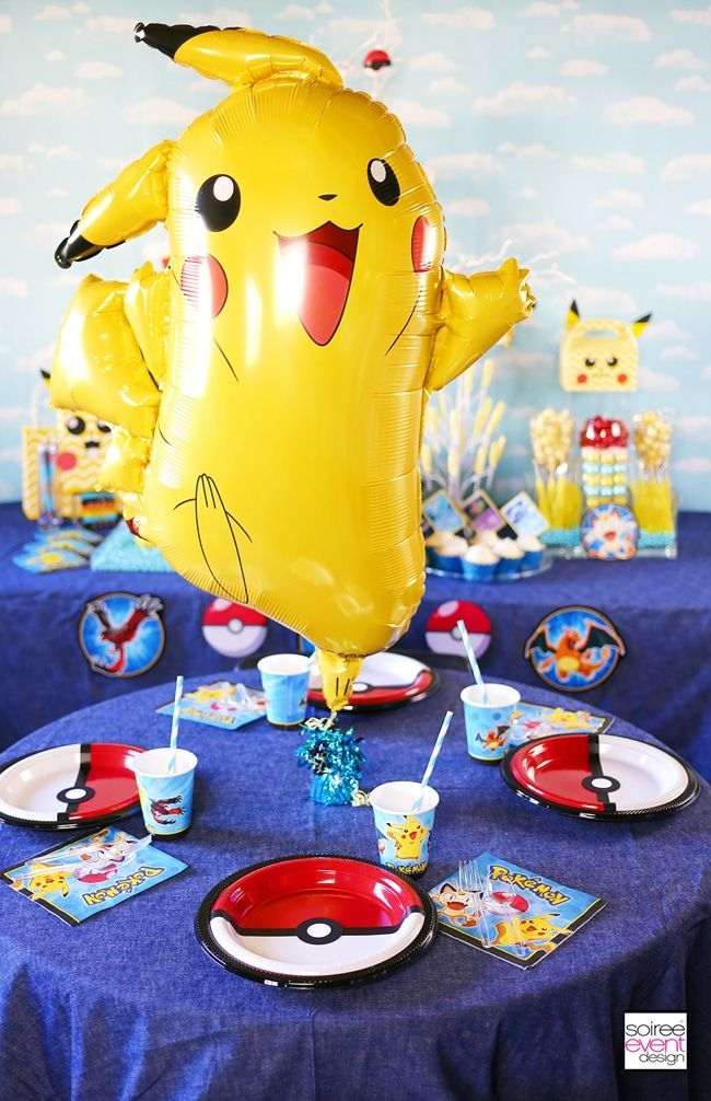 Pin By Helene Bechara On Pokemon Geburtstag In 2020 Pokemon