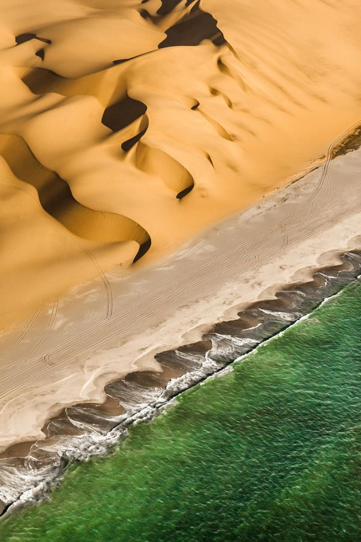 Skeleton Coast, Namibia. Click http://theculturetrip.com/africa/namibia/ for everything a traveler needs to know about a trip to Namibia.