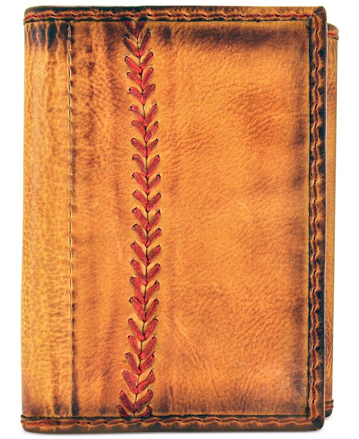 Rawlings Baseball Stitch Trifold Wallet