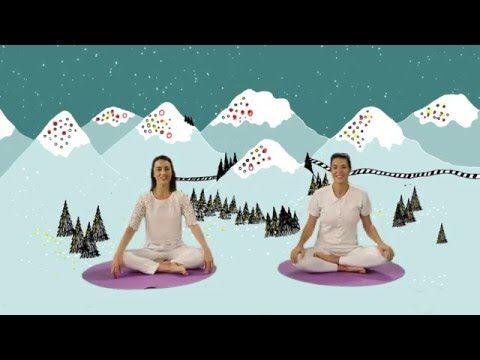 """YOGIC / Yoga para Niños - Cápsula """"El cuento de las mariposas"""" - Juegos y canciones infantiles - YouTube"""