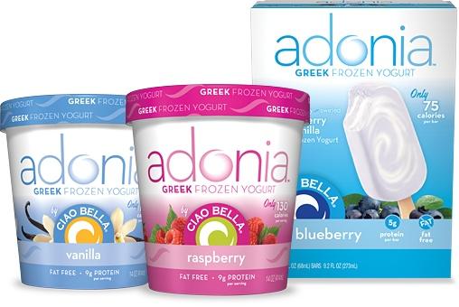 OMG you guys. This stuff is to die for! SOOOOO yummy!Calories Frozen, Greek Frozen, Frozen Yogurt, Adoniagreekyogurt Jpg 559 364, Low Calories, 130 Cal, Grams Protein, Greek Yogurt, 29 Yogurt