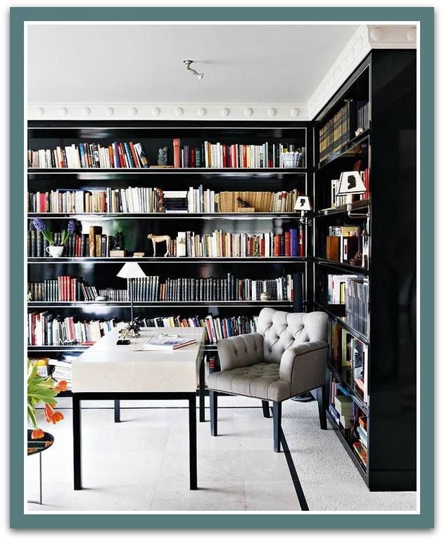 love these book shelves.