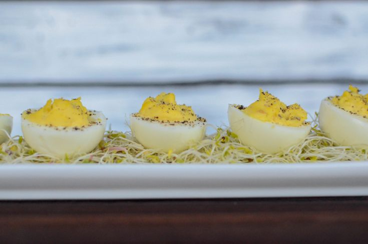 Enjoy these classic deviled eggs with Durkee's and Wickles relish! [...]Continue Reading…