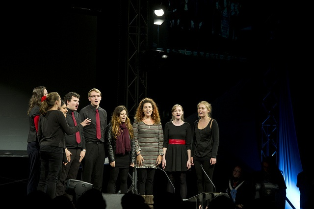 A variety of societies performed at the Freshers' Address