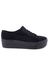 Holly plateau sneakers sort