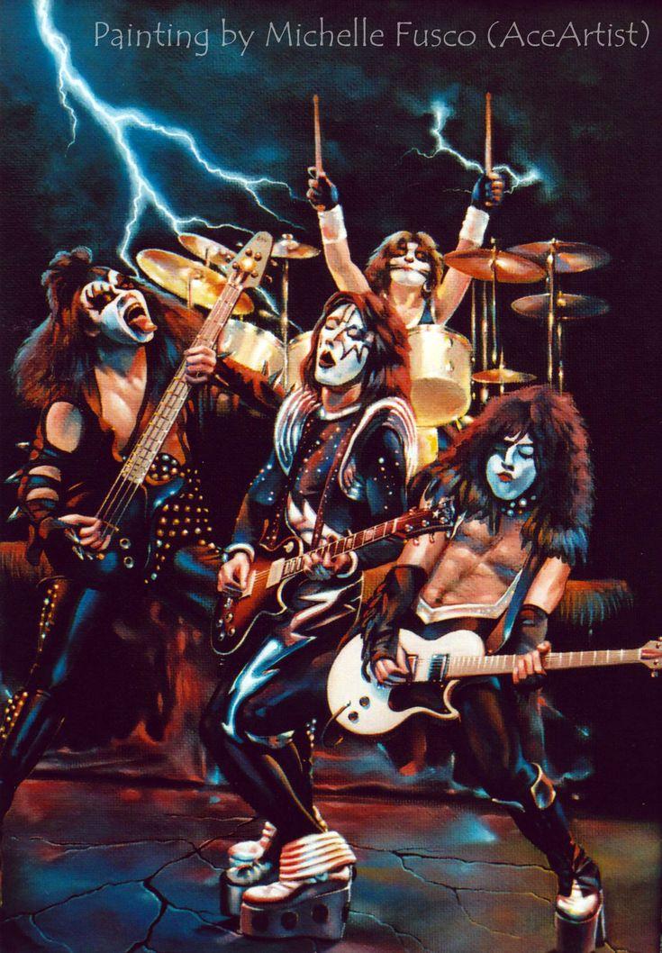 Best 25+ Kiss band ideas on Pinterest Kiss rock bands, Kizz band - wandbilder für küche