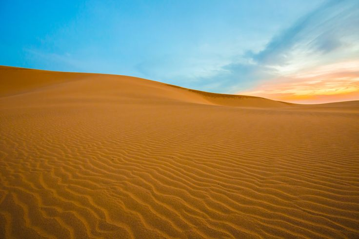 Picture of Tottori Sand Dunes at sunrise in Japan