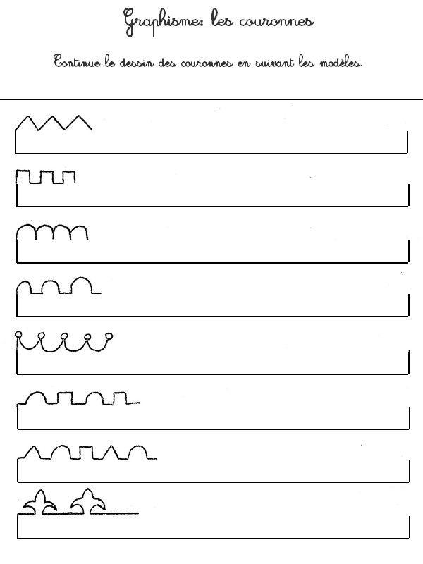 Graphisme de couronnes