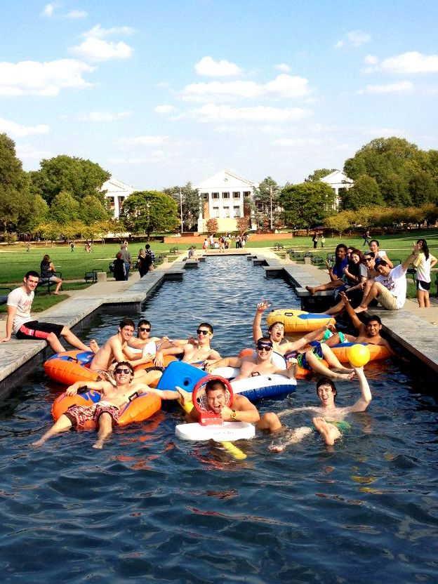 You were the person who jumped in the fountain after hours. | Community Post: 22 Signs You Went To The University Of Maryland