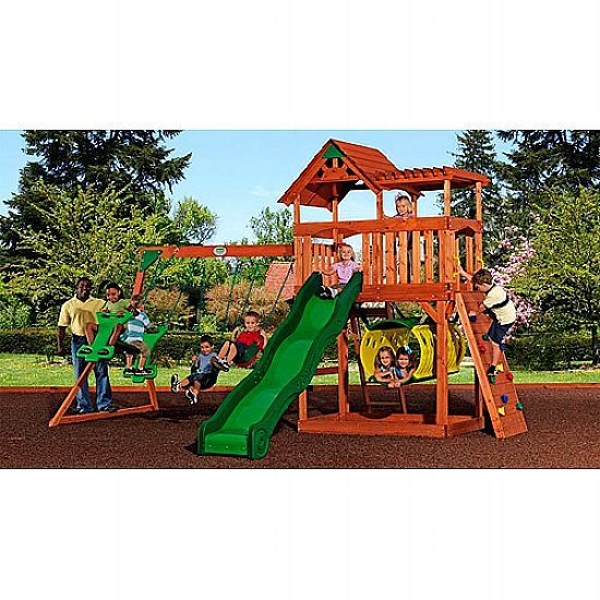 Cheap Backyard Discovery Wooden Swing Set For Sale