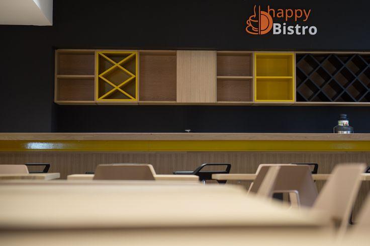 Happy Bistro, designed by Morphoza, for Fortech Cluj-Napoca.
