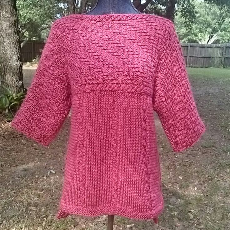 74 best Hand Knit Sweaters Ponchos Hoodies images on Pinterest ...