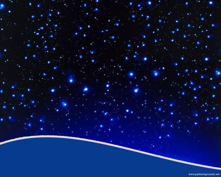 Starry Sky for Astronomy Template