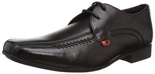 Oferta: 71.15€ Dto: -70%. Comprar Ofertas de Kickers Osterpref - Zapatos con cordones de cuero para hombre, color negro, talla 42 EU (8 UK) barato. ¡Mira las ofertas!