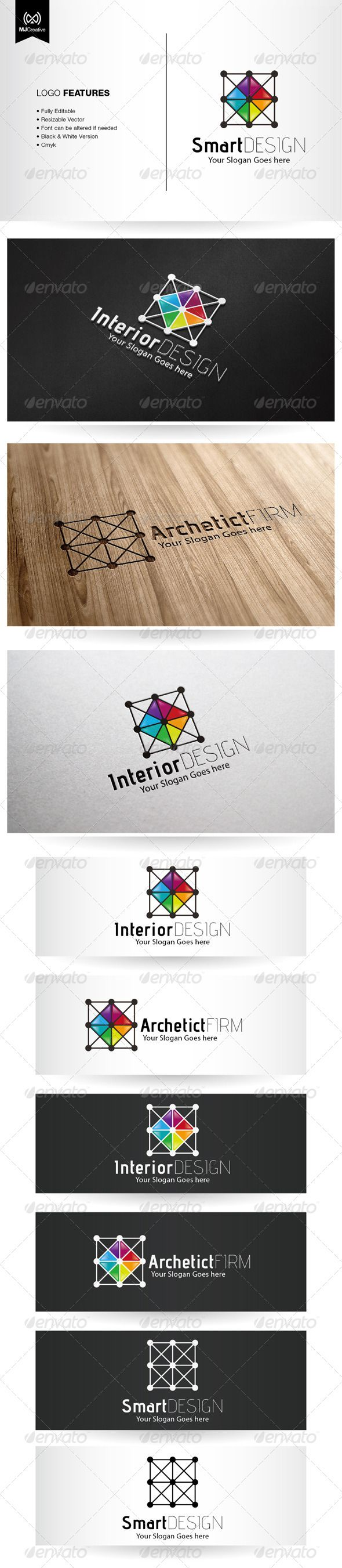 Architecture And Interior Design Logo #GraphicRiver Logo template suitable for Graphic works, Industrial design, technology related industry, apps and online activities, etc… The logo is vector format so you can re-sized without losing the quality. Included in the download • Ai File (cs3 or later) • EPS10 • Info Text Free fonts used in the design For any modification and editing assistance, please contact me and I'll be happy to help. Created: 30August13 GraphicsFilesIncluded: JPGImage…