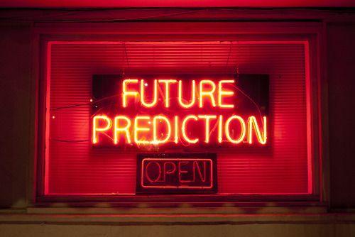 FUTURE PREDICTION source: unknown
