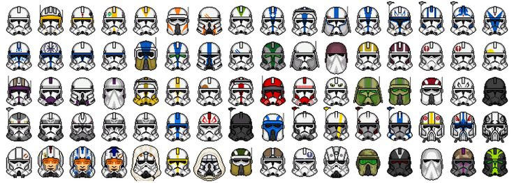 Hi everyone. Upon seeing all the different variations of clone armour at the moment, I decided to attempt to design them on Microsoft Paint (for some reason...