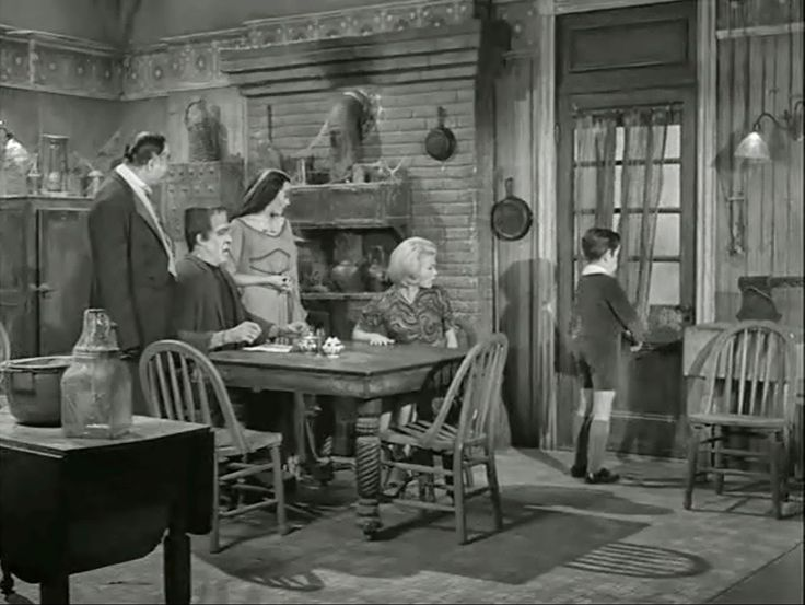 Inside the Munster House Screen Shots of All Interiors and Every Room: Kitchen - Munster's house