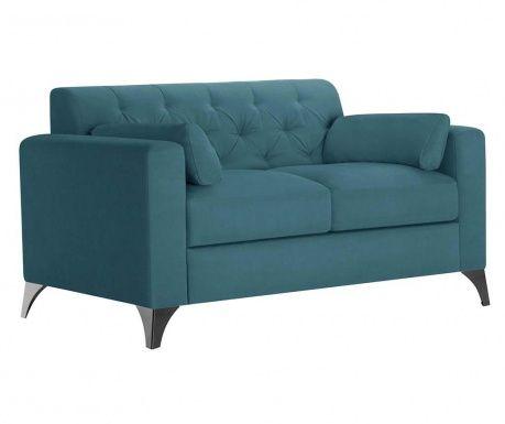 Canapea 2 locuri Vanity Tuquoise