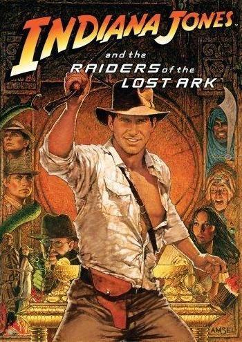 Este poster lo tenía colgado en la pared de mi cuarto ¡qué gran película de aventuras!