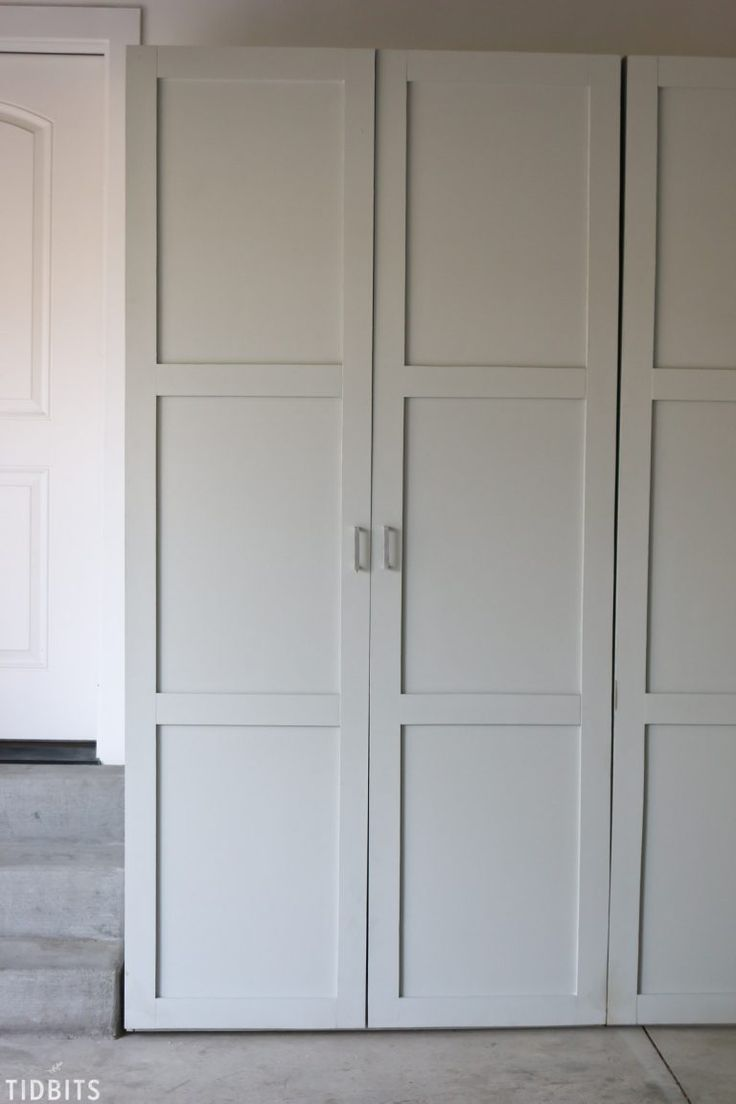 """Think the outside of these garage storage cabinets look great? Wait until you see the insides! Free building plans available . . . """"oh honey!"""""""